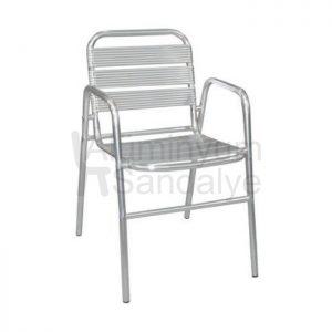 Aluminyum Kollu Otel Sandalyesi Alb15